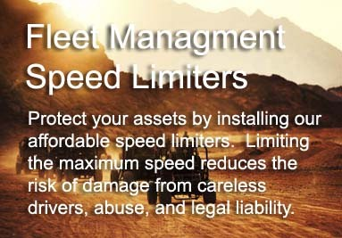 Fleet Management Speed Limiters